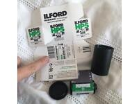 Ilford black and white film, 24 exposure film reel.