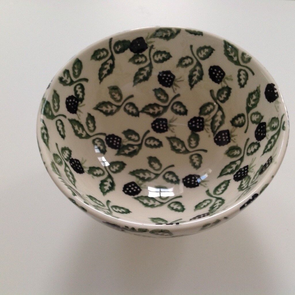 Emma Bridgewater rare Blackberry design French Footed Bowl
