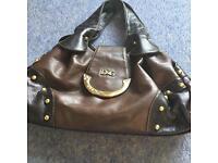 Brown handbag...