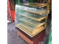 CAKE DISPLAY FRIDGE CATERING COMMERCIAL CAFETERIA FAST FOOD KITCHEN BAR SHOP TAKE AWAY