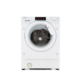 NEW HOOVER HBWM84TAHC-80 Integrated Built-In 8kg 1400Spin Washing Machine White