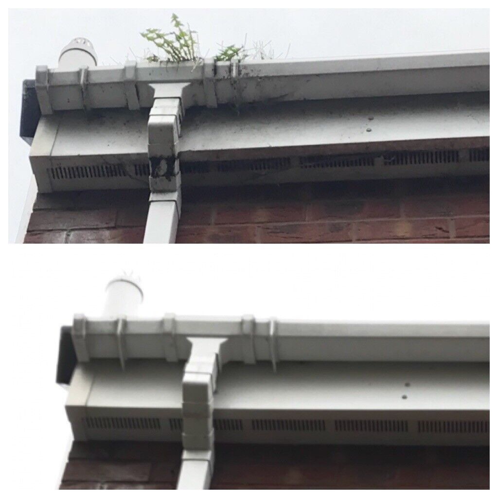 Gutter Cleaning in and around Wigan