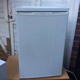 Small fridge and freezer