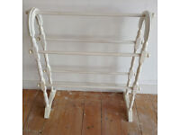 White Painted Towel Rails