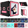 Shockproof Rubber Hard Kickstand Case Cover For iPad Mini 1/