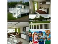 8 berth caravan for hire in haggerston castle