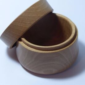 Solid Carved Wooden Beech Bowls
