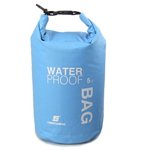 Prettyia 2pcs Waterproof Dry Bag Sack for Canoe Boating Kayaking Floating
