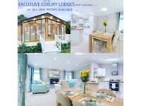 EXCLUSIVE luxury OMAR lodge high spec with sea view pitch Essex Coast