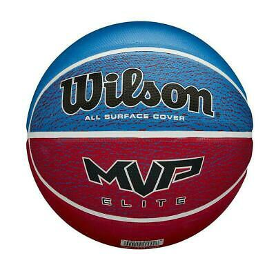 SIZE 7 Wilson Basketball - Red / Blue FREE P & P -