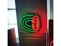 Watermelon neon sign