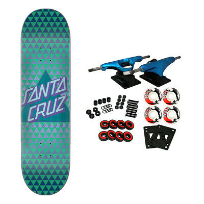 Santa Cruz Skateboard Complete Not a Dot Taper Tip 8.0""