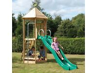 Weekend Offer!!! TP Castlewood Warwick Wooden Climbing Frame & Slide - RRP £550