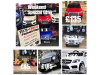 Weekend Offer On Kids Ride-On Cars Open Fri 2.30 To 7.30, Weekend 12 To 7.30, (Bradford)