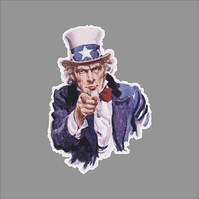 - Uncle Sam Patriotic Wall Car Window Vinyl Decal Sticker Graphic