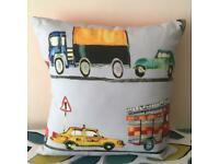 NEW Handmade Children's New York Taxi Pillow Cushion 40cm x 40cm - collect from Gosport Hampshire
