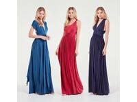 Midnight navy bridesmaid dresses (3)
