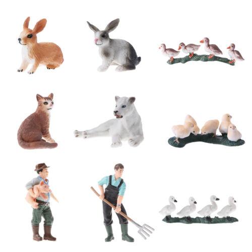 Simulation Wildlife/ Farm Animal Model Figurine Educational