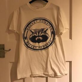 Disney Guardians of the Galaxy Rocket Raccoon T Shirt