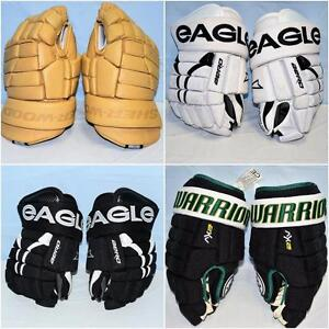 Clearance Hockey Gloves - Special Pricing on Eagle, Warrior, Easton and More.