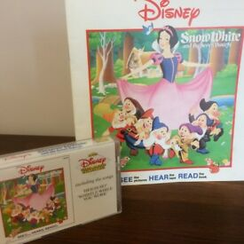 Snow White and the Seven Dwarfs. A Children's Favourite Story with Audio Cassette