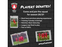 Football players wanted for the new season - Dennistoun Thistle