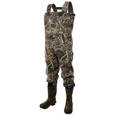 Frogg Toggs Amphib 3.5 Neoprene Realtree Max-5 Bootfoot Chest Waders ()