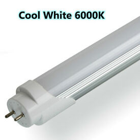 New LED T8 Tube Cool White Day White Retrofit, 5ft 6ft Long, Power Saving, Indoor Use