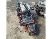 Isuzu NKR 2.8 diesel engine and gearbox. Choice of 2.