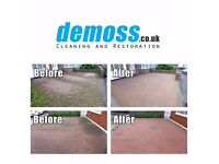 DRIVEWAY CLEANING Roof Patio Gutter Jet Wash Pressure Washing Cleaning Service