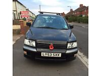 Mitsubishi Spacewagon 1997 cc Classic 2003 7 Seater - 1 Years MOT
