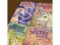 My Secret Unicorn 4 Book Set By Linda Champman