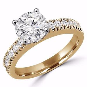 BAGUE DE MARIAGE 1.50 CARAT EN OR 14K / WEDDING RING 1.50 CARAT ON14K GOLD