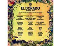 El Dorado Festival 2017 (2 tickets)