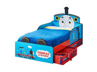 THOMAS & FRIENDS MDF TODDLER BED WITH STORAGE