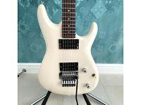 1989 Ibanez Satriani JS1 Prototype - White