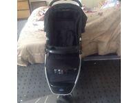 Babystart ria 3 wheeler black
