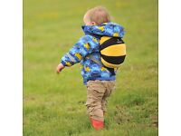 LittleLife Kids Bee Daysack with Reins