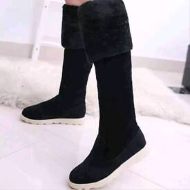 Winter Over the Knee Boots Size 3.5