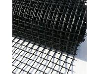 Suregreen   Plastic Mesh Fencing   20mm Holes   1 x 10m   Black
