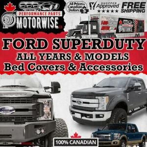 Ford SuperDuty Bed Covers - Accessories - Performance Parts | FINANCING Available | Shop & Order at Motorwise.ca