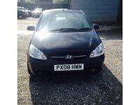 2008 Hyundai Getz full mot passed today was cat c repaired