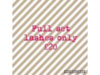 Full set Eyelash extensions for £20! South London/Surrey