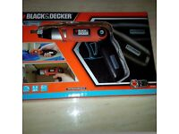 Black & dfecker screwdriver Brand new