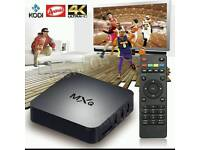 MXQ ANDROID TV BOX. BEST IN UK HD 3D