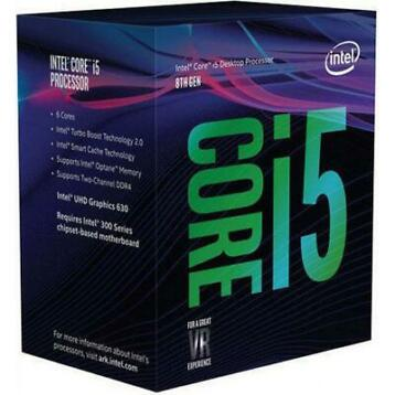 Intel Core®i5-8600K Processor (9M Cache, up to 4.30 GHz) 3.6
