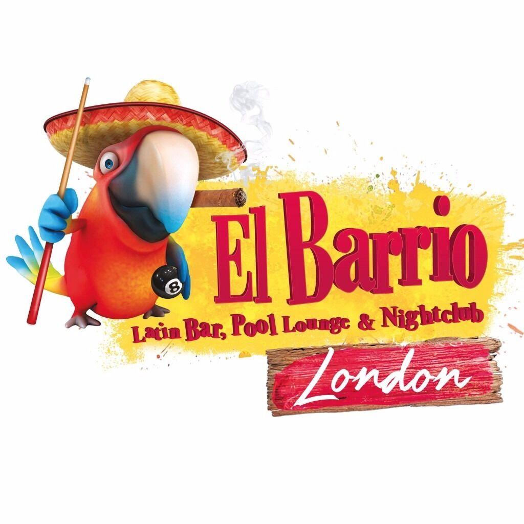 bar manager for el barrio latino bar pool lounge and club in bar manager for el barrio latino bar pool lounge and club