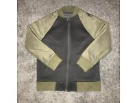 Next boys black and khaki bomber jacket
