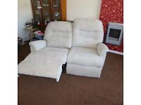 2 x SHERBORNE POWERED RECLINER SETTEES