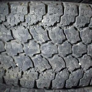 GOODYEAR WRANGLER ADVENTURE A/T LT275/70R18 10 PLY TIRES 85% TREAD